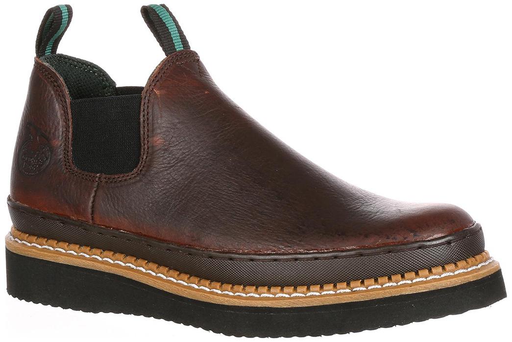 Georgia-Boot-Giant-Wedge-Romeo-Leather-Boots-single