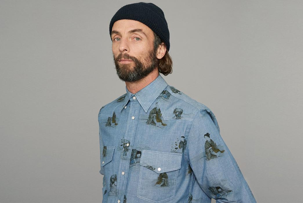 Gitman-Celebrates-40-Years-of-Shirts-front-with-blue-shirt