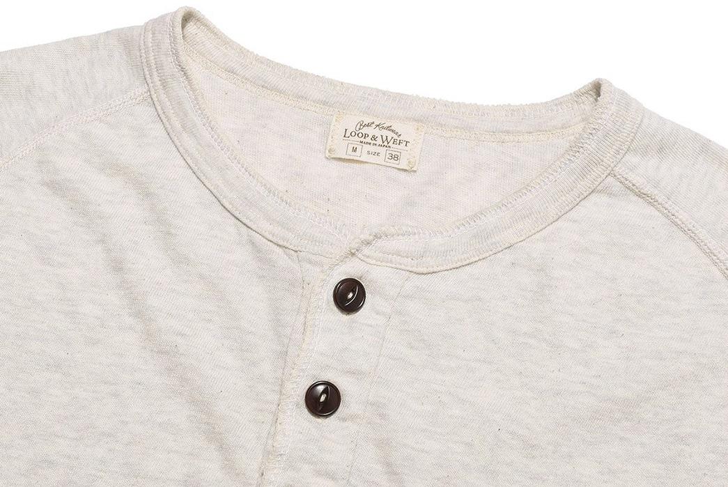 Loop-&-Weft-San-Joaquin-Cotton-Long-Sleeve-Raglan-Henley-front-collar