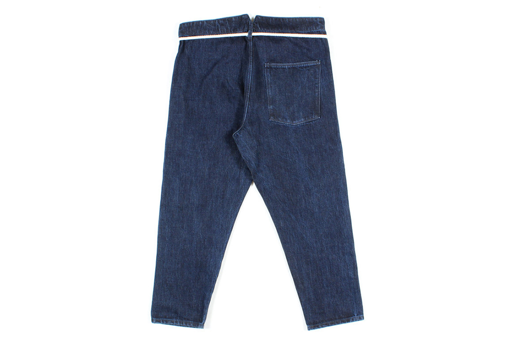 Prospective Flow Flips Selvedge Inside Out with Their Kaze-Ura Pants