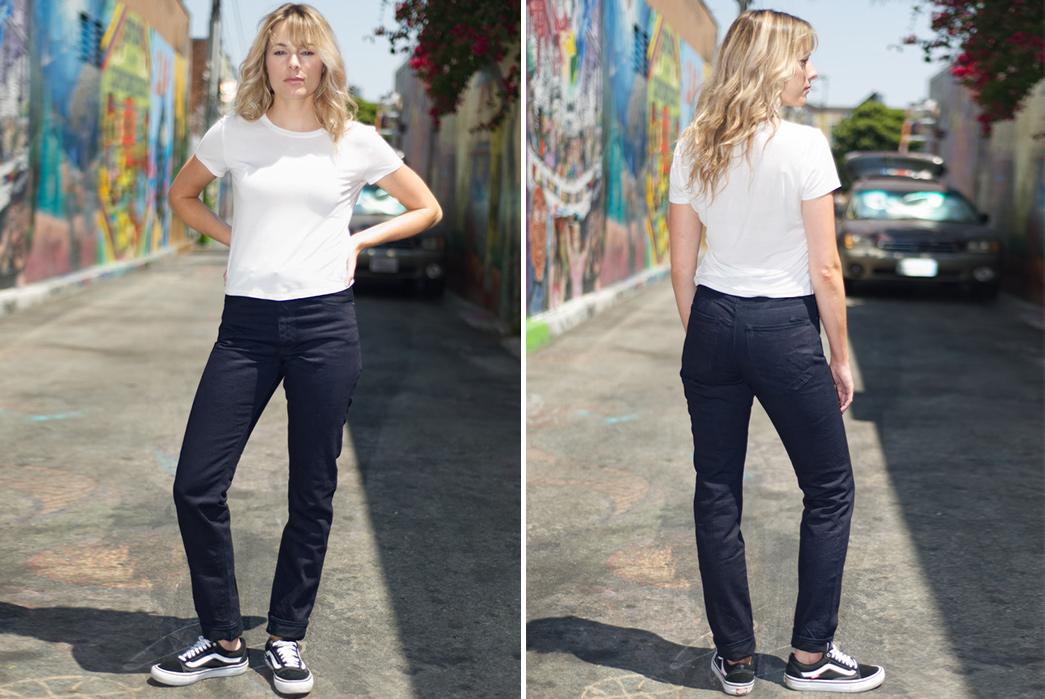 PRPS-for-Self-Edge-female-model-2-front-back
