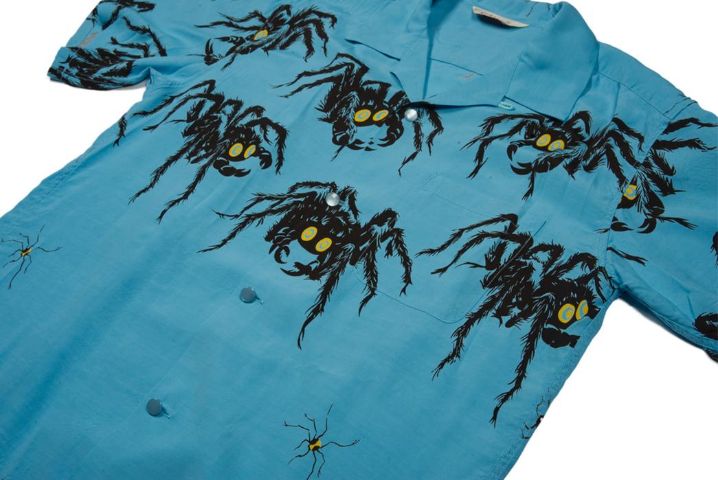 Star-of-Hollywood-Tarantula-Shirt-front-angle