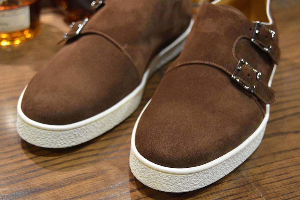 Yep,-John-Lobb-Made-Dub-monk-Sneakers-pair-borwn-front