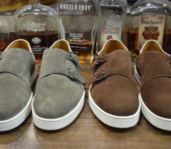 Yep,-John-Lobb-Made-Dub-monk-Sneakers-pairs-grey-and-brown