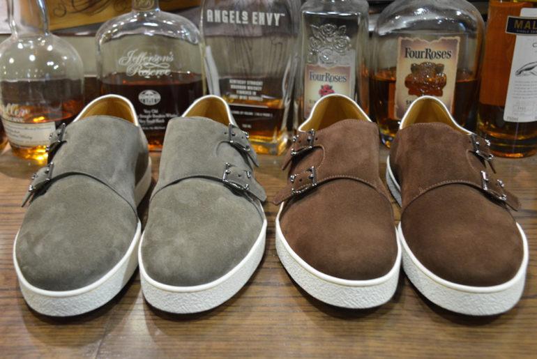 Yep,-John-Lobb-Made-Dub-monk-Sneakers-pairs-grey-and-brown</a>