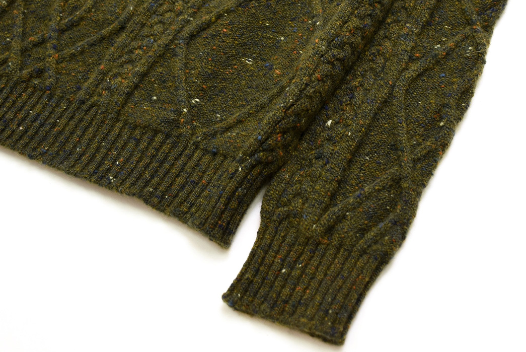 American-Trench-Fishes-Out-Cashmere-for-Their-American-Knit-Sweaters-green-sleeve