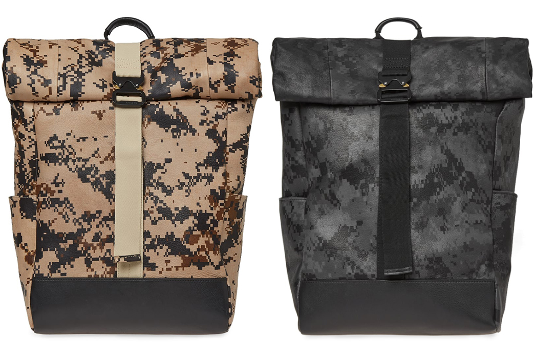 Camo-Backpacks---Five-Plus-One-5)-End-x-Clarks-Rolltop-Bag-GTX