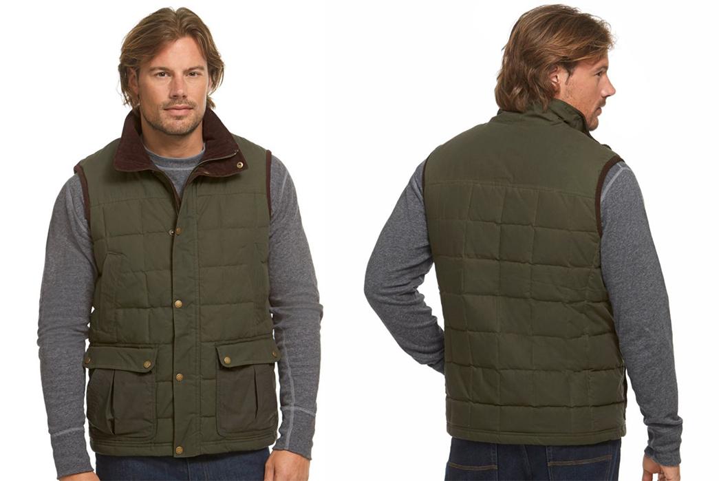 Down-Vests---Five-Plus-One-4)-L.L.-Bean-Upcountry-Waxed-Cotton-Down-Vest