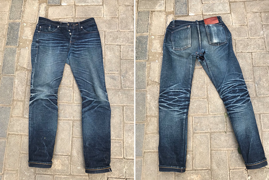 Fade-of-the-Day---Naked-&-Famous-Okayama-Spirit-2-(1-Year,-4-Washes,-2-Soaks)-front-back