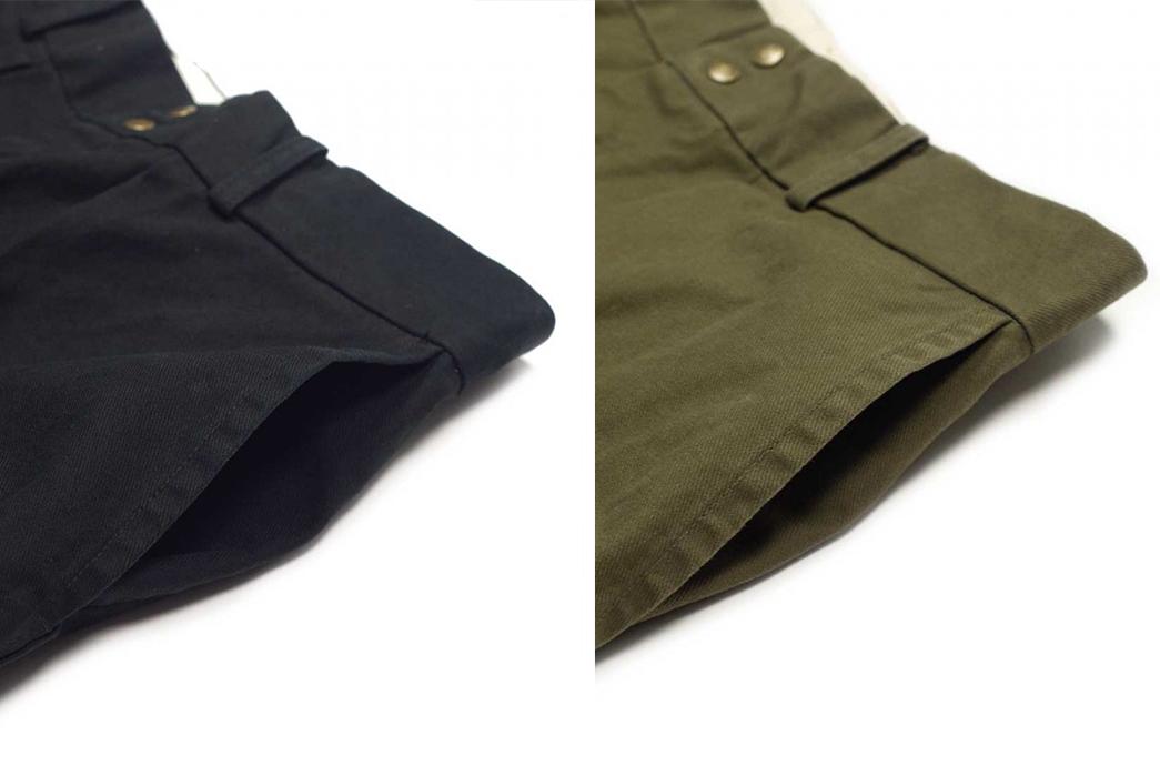 Fujito-Wide-Slacks-black-and-green-top-left-pocket