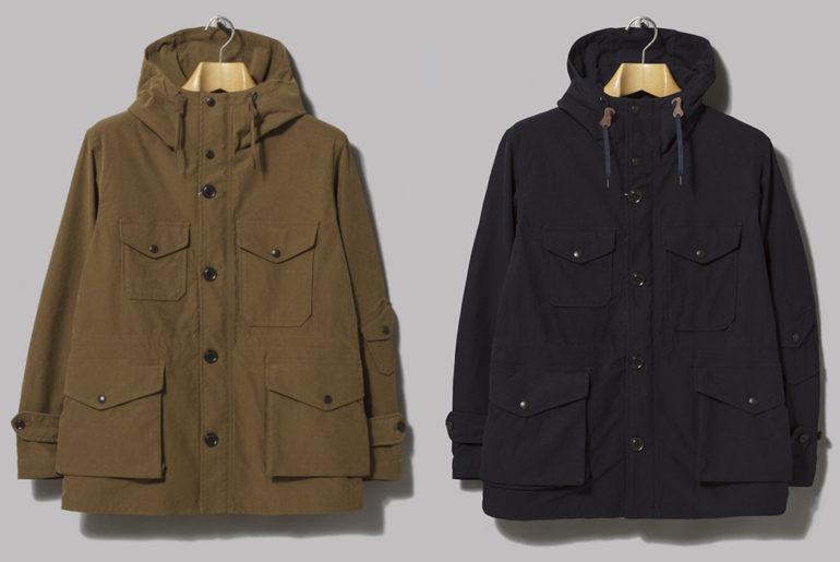 Nanamica's-Poly-Nylon-Jackets-Cruise-into-Fall-khaki-and-navy-fronts</a>