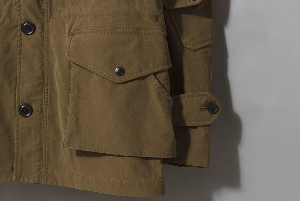 Nanamica's-Poly-Nylon-Jackets-Cruise-into-Fall-khaki-down-left