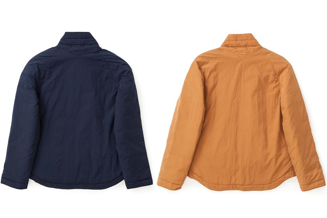 YMC-Stuffs-Goose-Down-Into-a-Kimono-back-blue-and-brown
