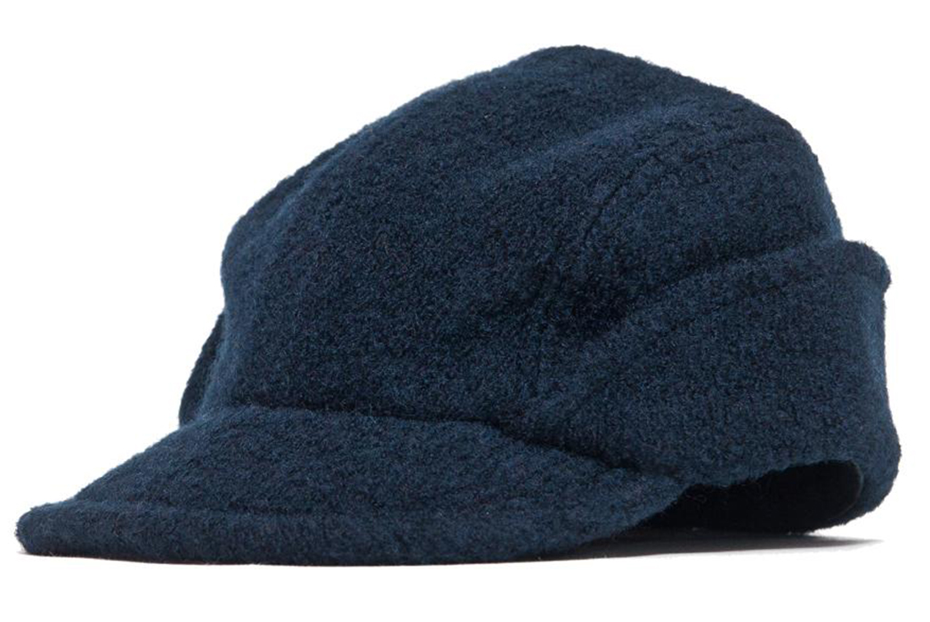 Arpenteur-Cahors-Boiled-Wool-Hats-navy-front-side