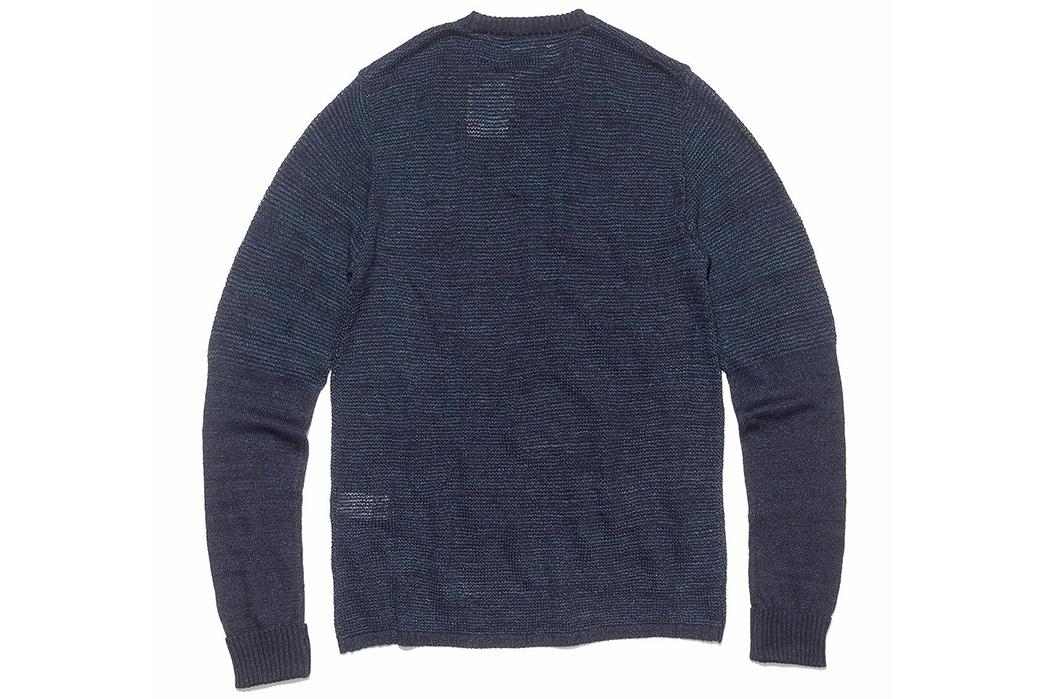 Blue-Blue-Japan-ersey-Drop-Long-Tail-Loose-Knit-Sweater-back