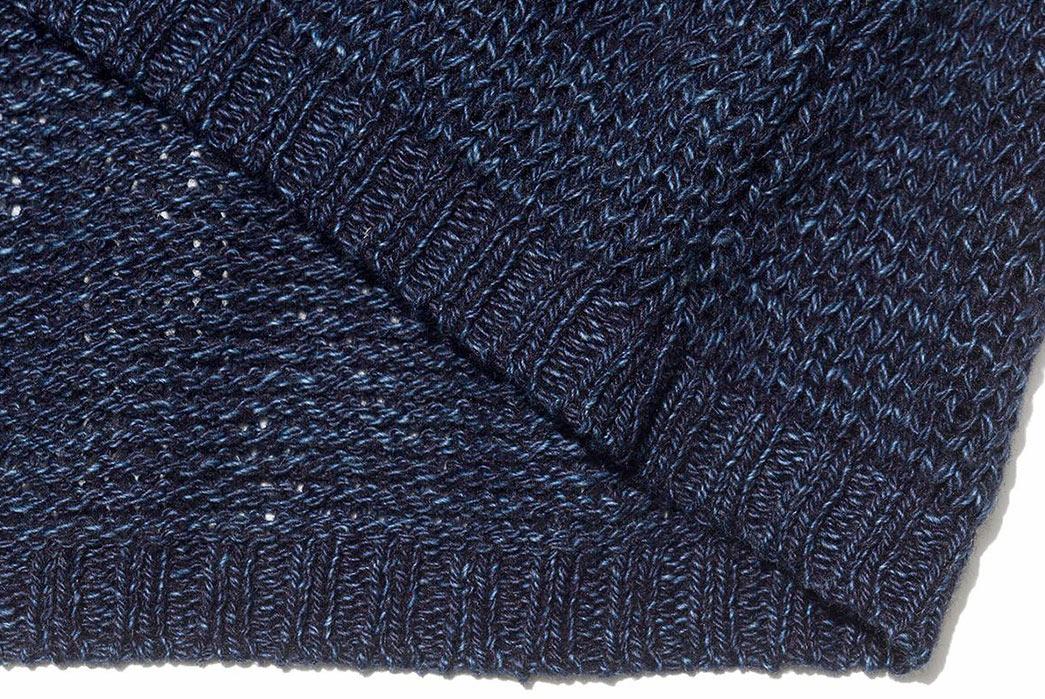 Blue-Blue-Japan-ersey-Drop-Long-Tail-Loose-Knit-Sweater-down-selvedge