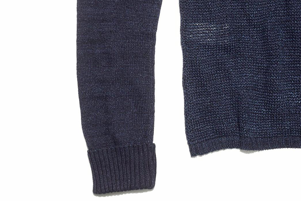 Blue-Blue-Japan-ersey-Drop-Long-Tail-Loose-Knit-Sweater-sleeve