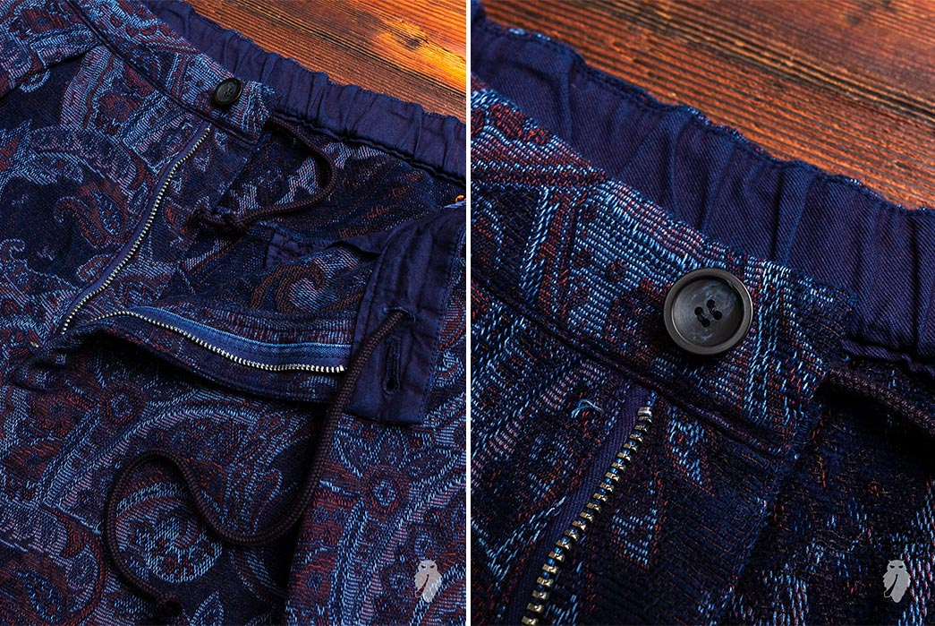 Blue-Blue-Japan's-Lounge-Set-is-an-Indigo-Dyed-Tapestry--pants-front-top-zipper-and-button