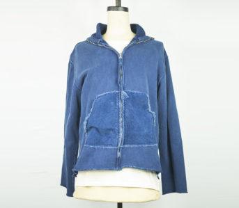 Dr.-Collectors-N1-Zip-Hoodie-front-half-open