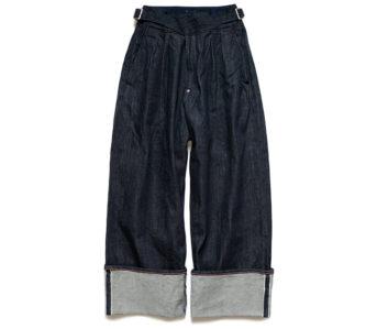 Kapital-14oz.-Selvedge-Denim-Gurkha-Pants-front