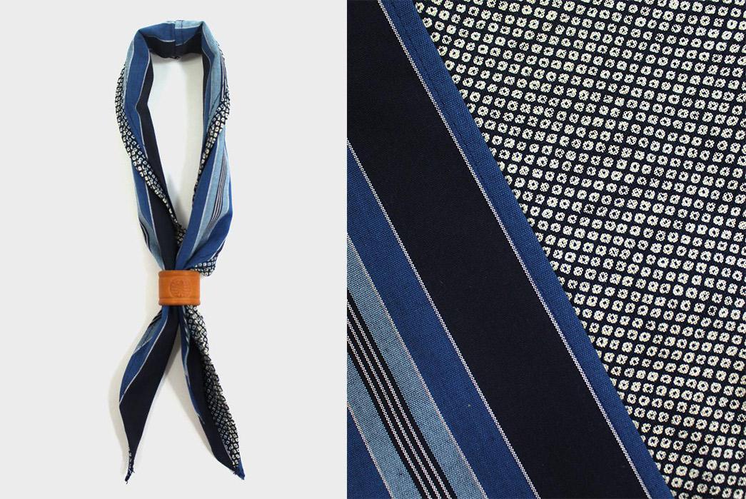Kiriko-Split-Neckerchiefs-indigo-shima-and-shibori-tied-and-detailed