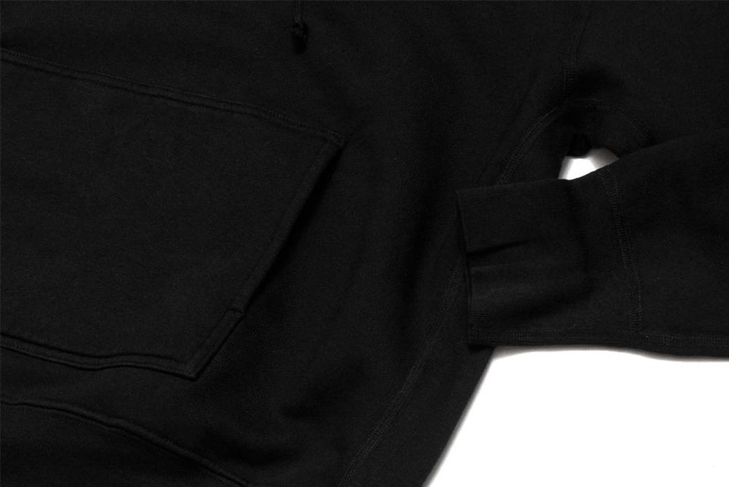 Lady-White-Hoodies-black-pocket-and-sleeve