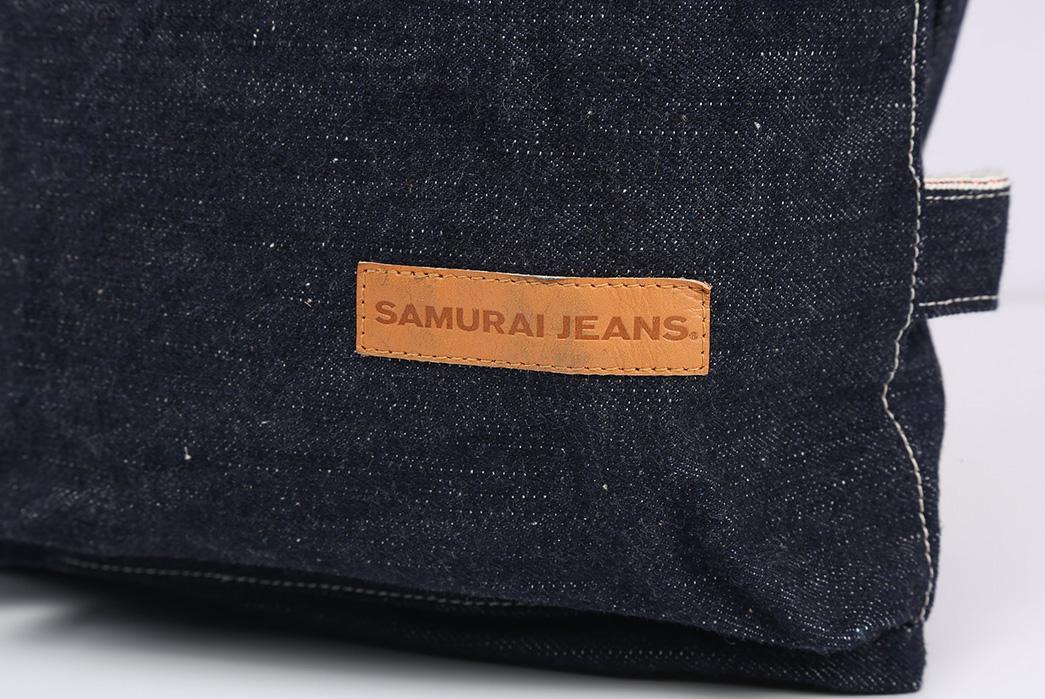 Samurai-17oz.-Denim-Helmet-Bag-brand