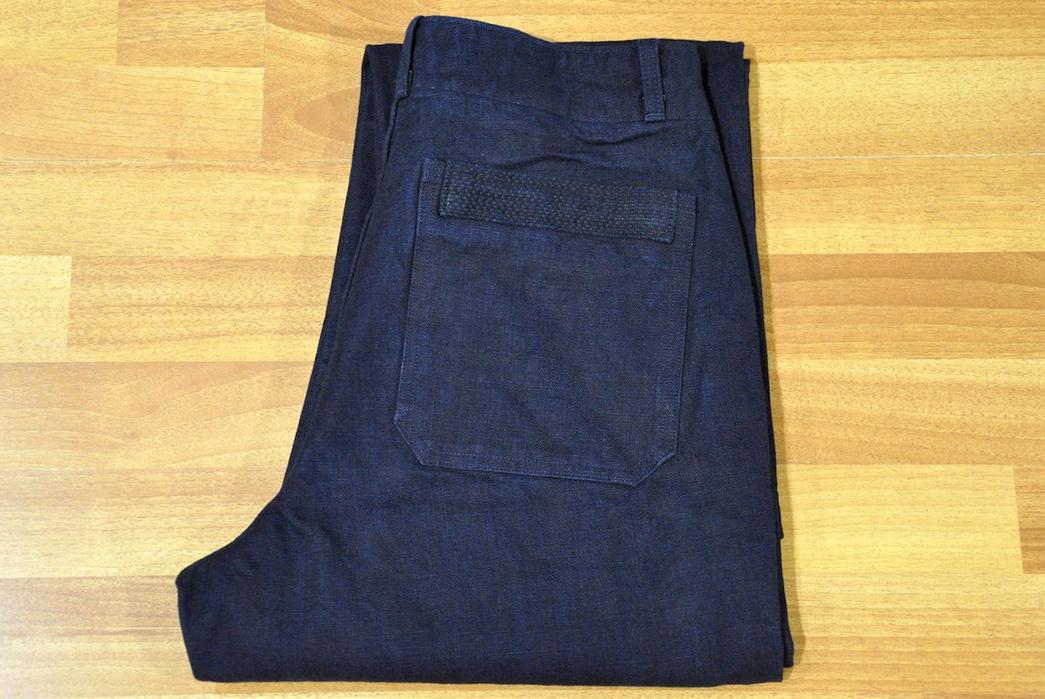 Stevenson-Overall-Co.-Indigo-Heavyweight-Farm-Hand-Pants-folded