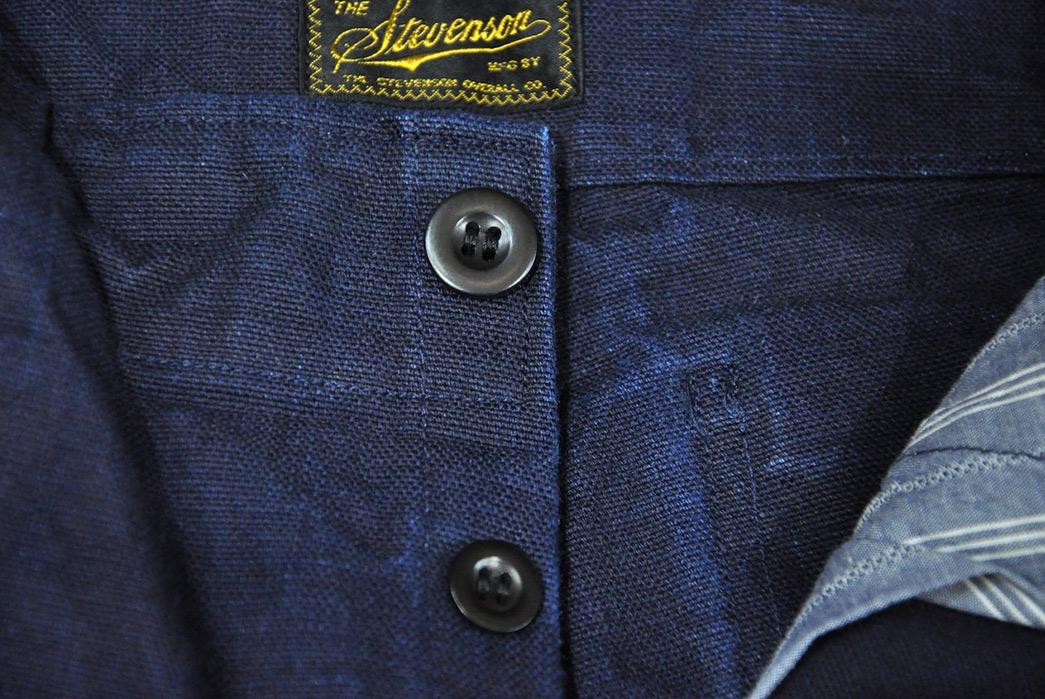 Stevenson-Overall-Co.-Indigo-Heavyweight-Farm-Hand-Pants-front-top-buttons