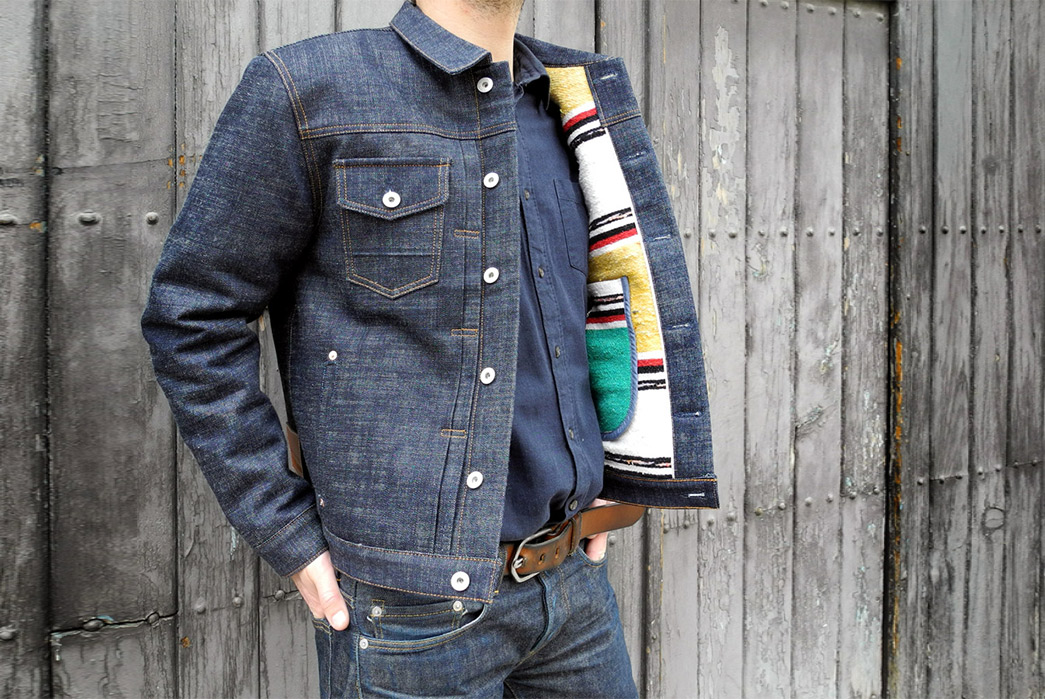 Traditional-Wool-Moroccan-Blankets-Line-Companion's-Newest-Trucker-Jacket