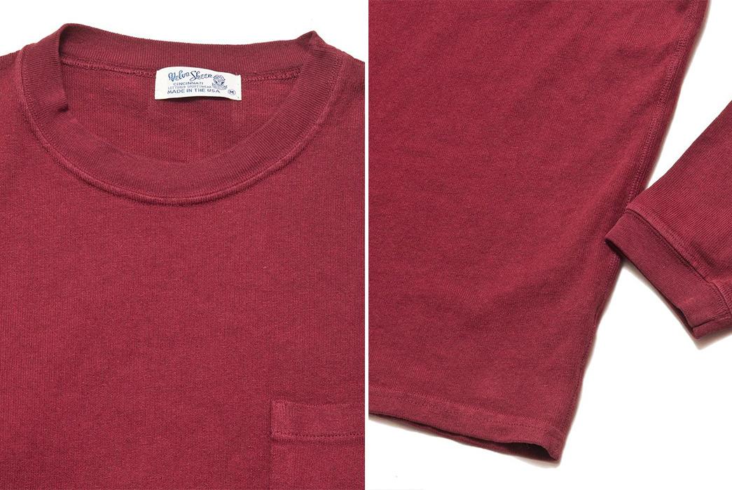 Velva-Sheen-Heavy-8oz.-Long-Sleeve-Tees-burgundy-collar-and-sleeve