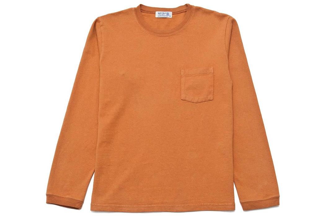 Velva-Sheen-Heavy-8oz.-Long-Sleeve-Tees-orange-front