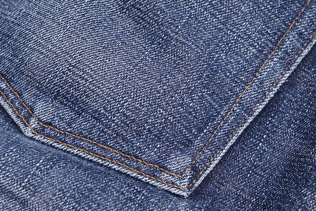 Fade-of-the-Day---Naked-&-Famous-Weird-Guy-Okayama-Spirit-3-(10-Months,-3-Washes,-1-Soak)-back-pocket