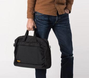Iron-Heart-Ballistic-Nylon-Overnight-Bag-front-model