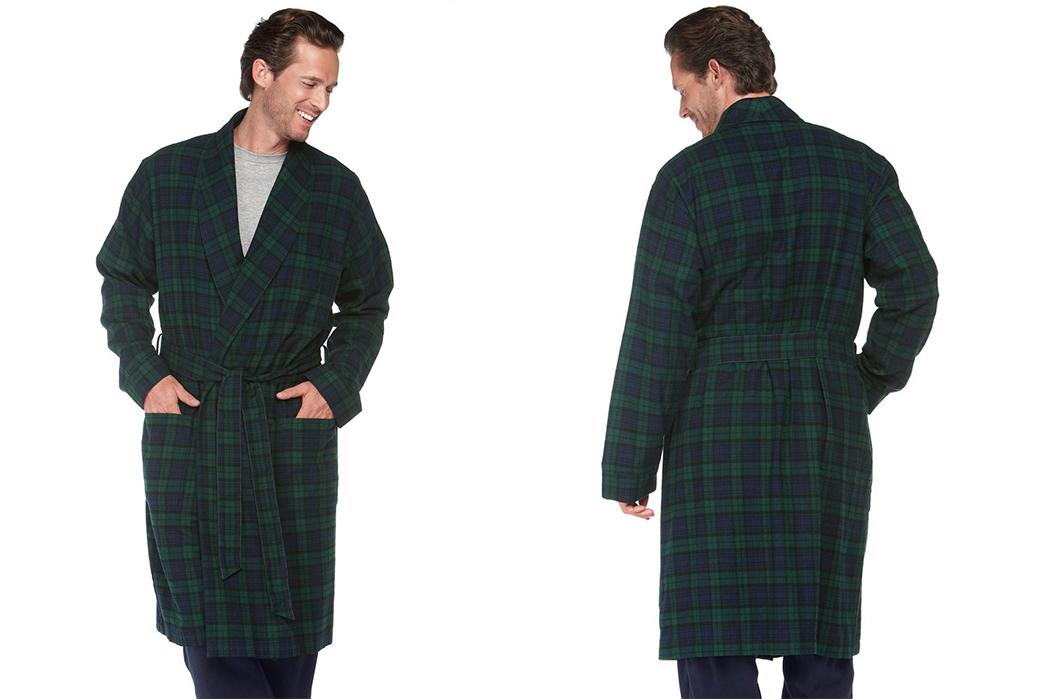 Luxurious-Robes---Five-Plus-One-5)-L.L.-Bean-Scotch-Plaid-Flannel-Robe