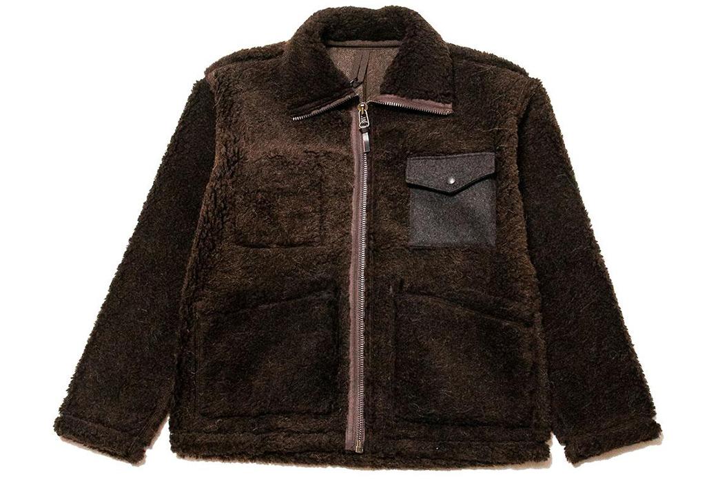 Nigel-Cabourn-40s-Wool-Alpaca-Pile-Jacket-front
