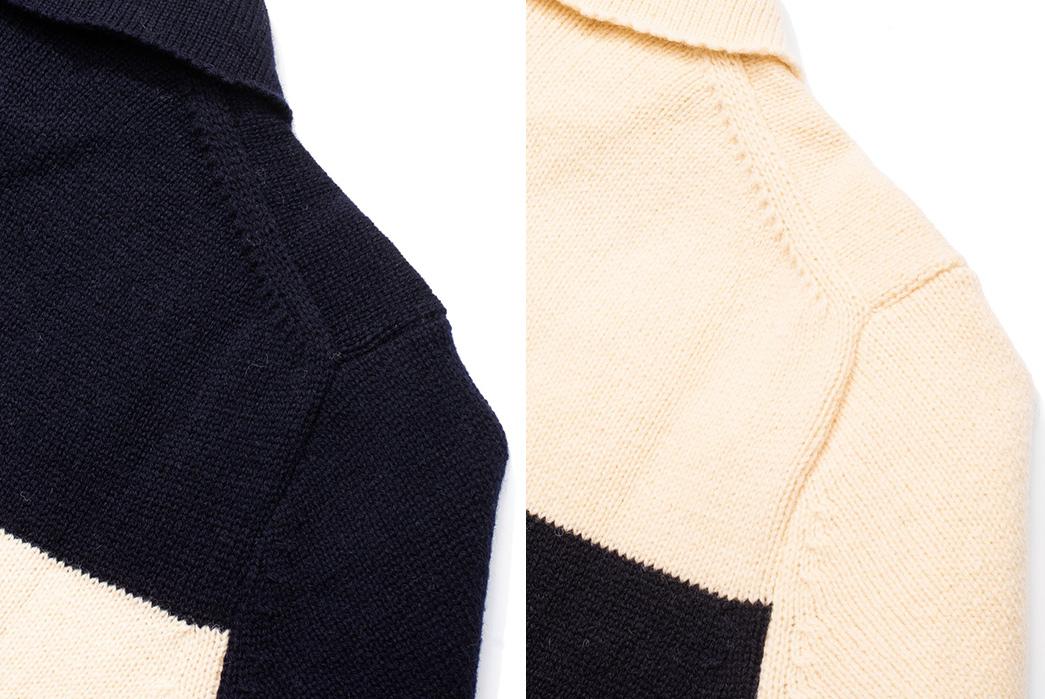 Pherrows-Fuses-Wool-Blankets-into-Sweaters-dark-light-shoulder