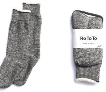 RoToTo-Double-Face-Socks-grey