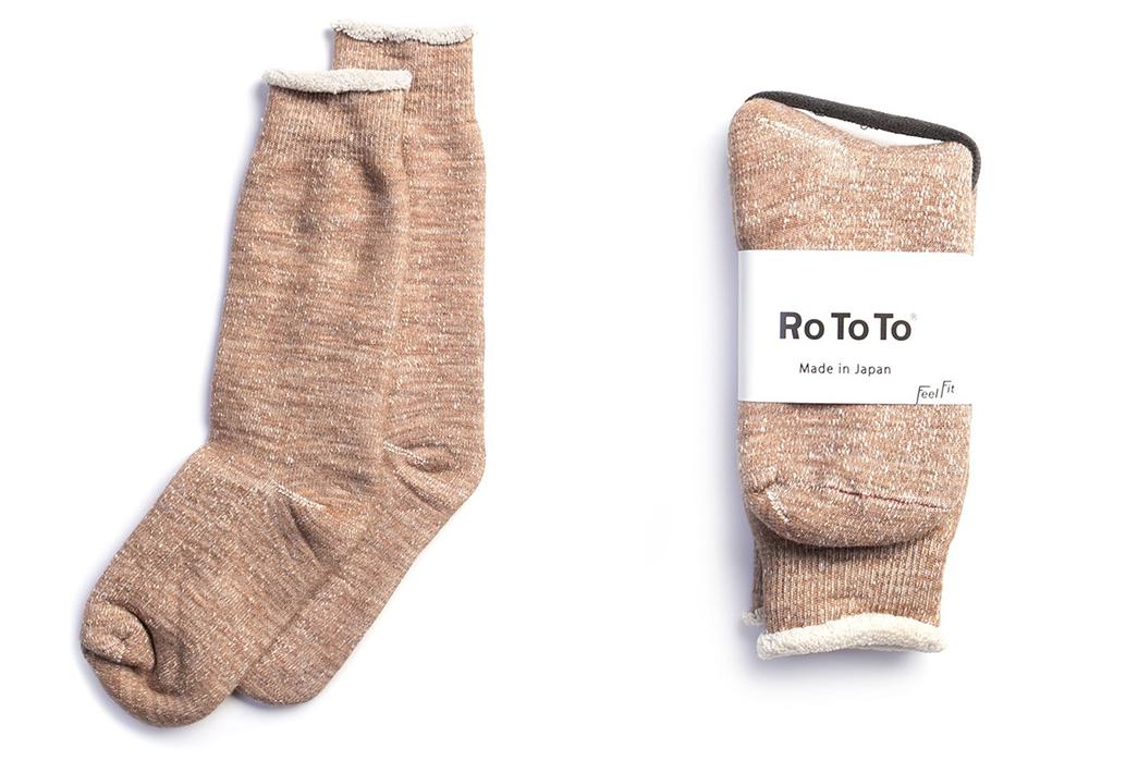 RoToTo-Double-Face-Socks-rose