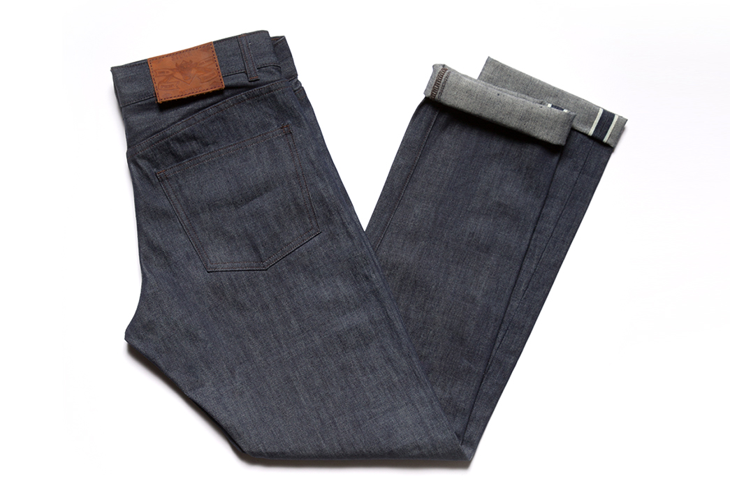 Stock Mfg. Co.'s First Pair of Selvedge Denim Jeans is Just $135