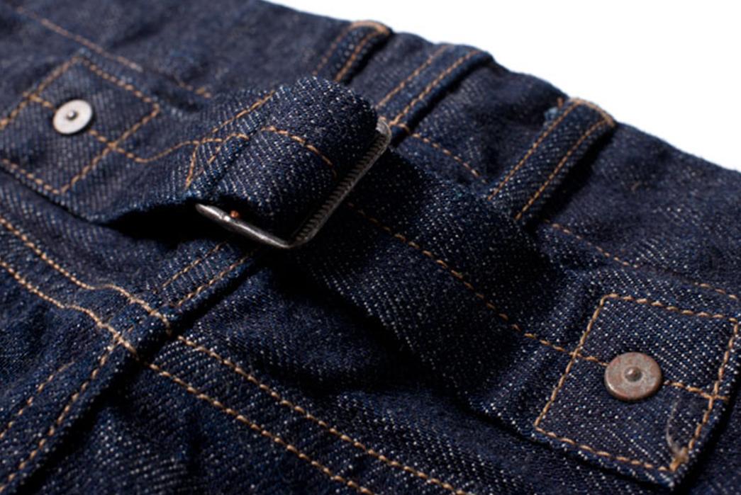 Studio-D'artisan-40th-Anniversary-Jeans-back-buckle