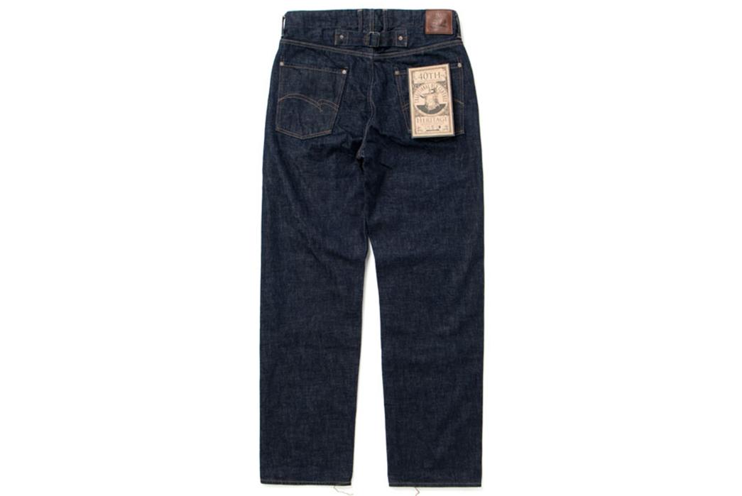 Studio-D'artisan-40th-Anniversary-Jeans-back