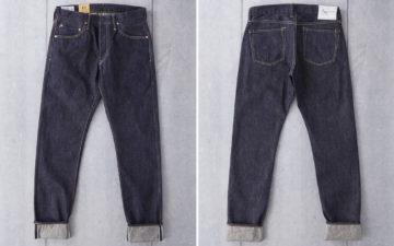 Studio-D'artisan's-FOX-001-Jeans-Feature-a-Natural-Olive-Cast-front-back