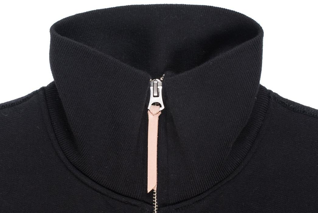 Ultra-Heavy-Loopwheel-Fleece-Zips-Up-Iron-Heart's-Latest-Sweat-front-collar