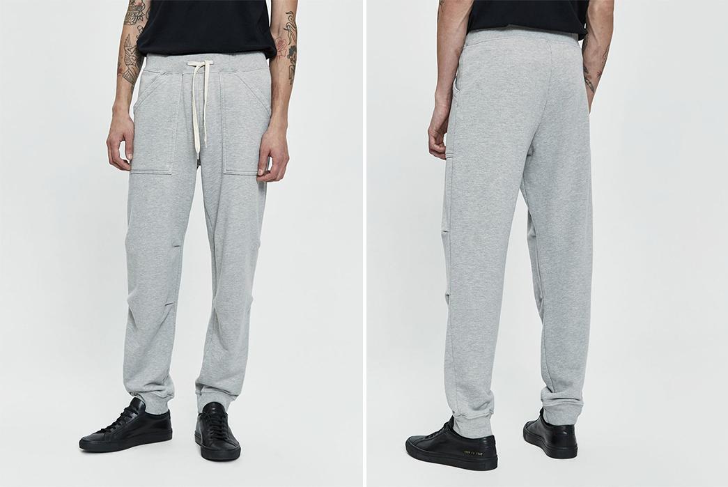 Velva-Sheen-8oz.-Army-Gym-Sweatpant-grey-front-back