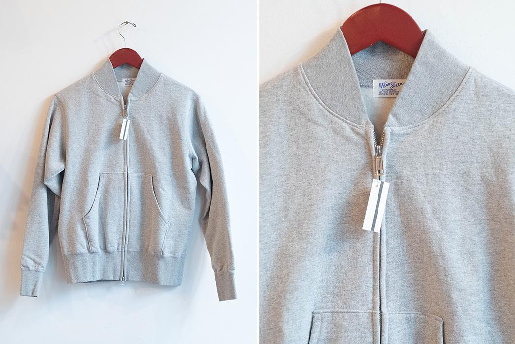 Velva-Sheen-Double-Zip-Warm-Up-Fleece-front-and-front-top