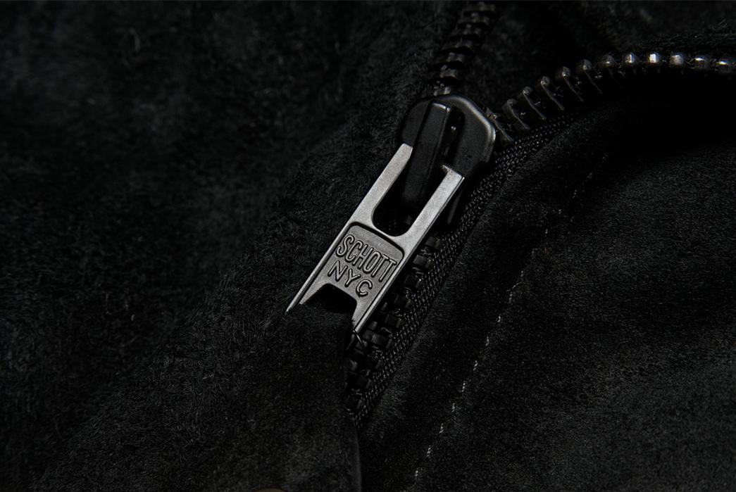 3sixteen-x-Schott-NYC-Black-Rough-Out-Perfecto-Jacket-zipper