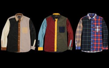 Beams+-Crazy-Button-Down-Shirts