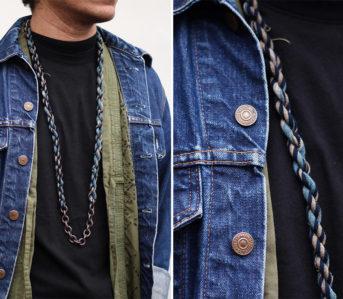 Boet-x-Kiriko-Indigo-Boro-Necklaces-front-open-detailed