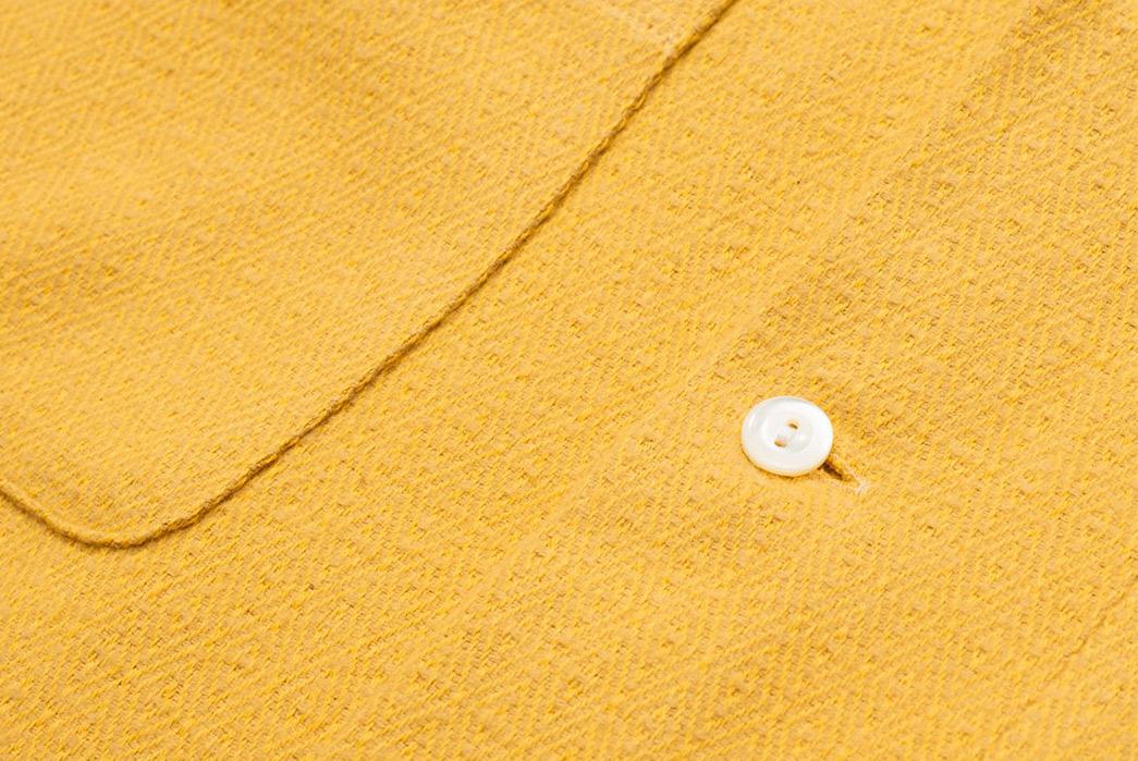 Calee-Open-Collar-Shirts-yellow-button